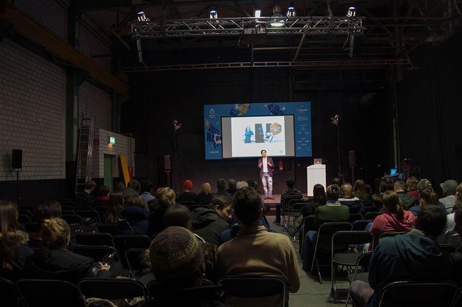 Digital Star Award Winner 2016 Antelope talks at FashTech Munich event