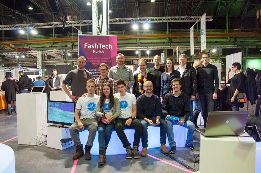 Teilnehmer auf dem two-day-festival von FashTech Munich