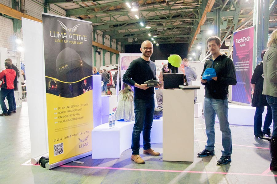 FashTech Munich shows electronic couture, Luma Active combining valuable and breathable textiles with an efficient and durable LED system